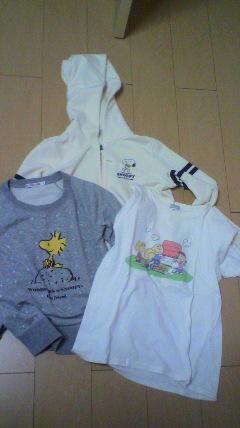 パーカーとトレーナーとTシャツ