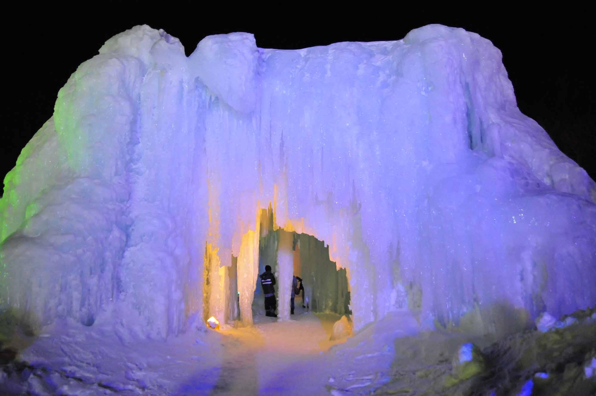 氷瀑まつり10