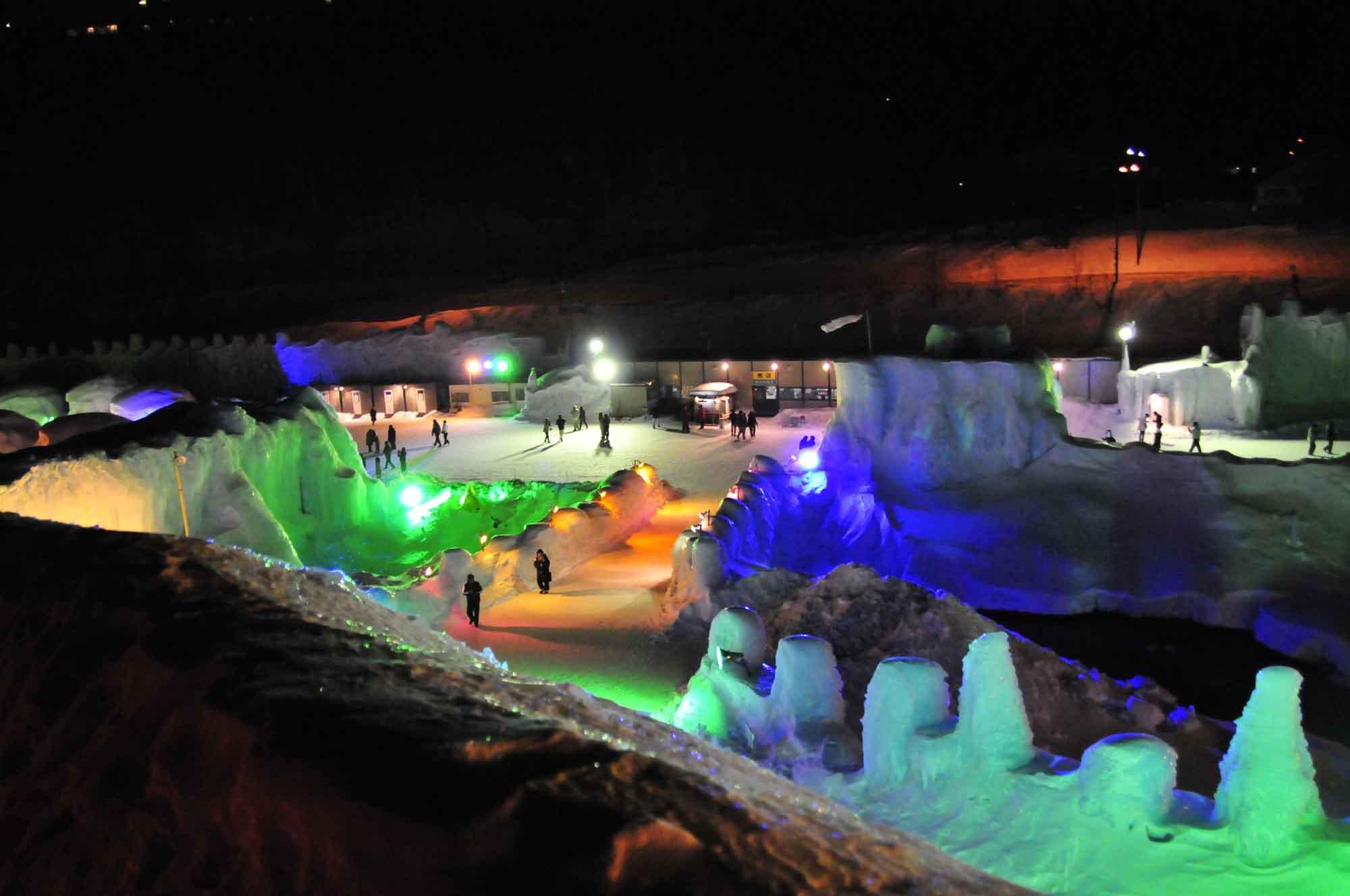 氷瀑まつり2
