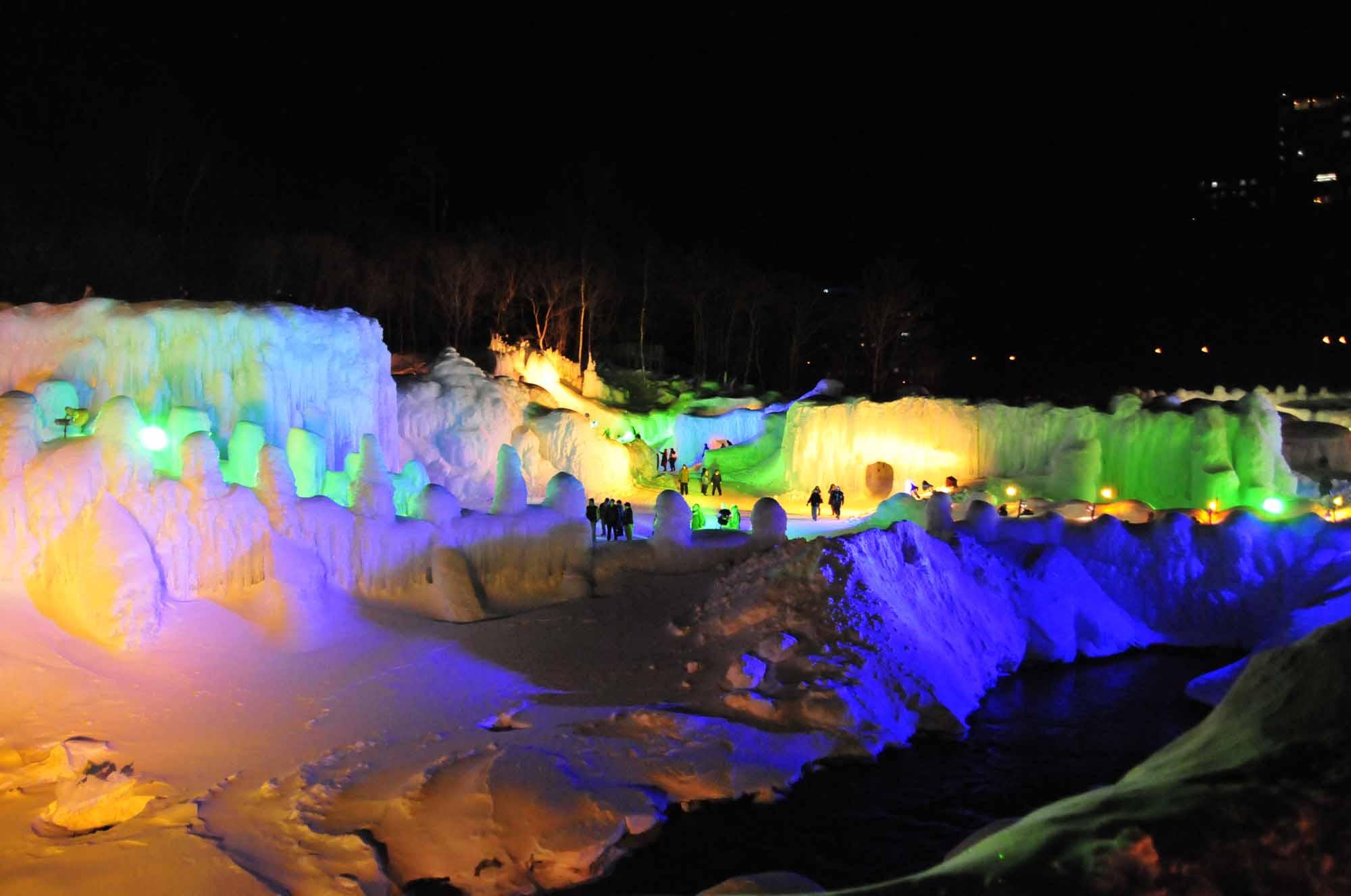 氷瀑まつり14