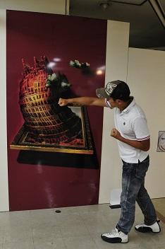 3Dアート展3